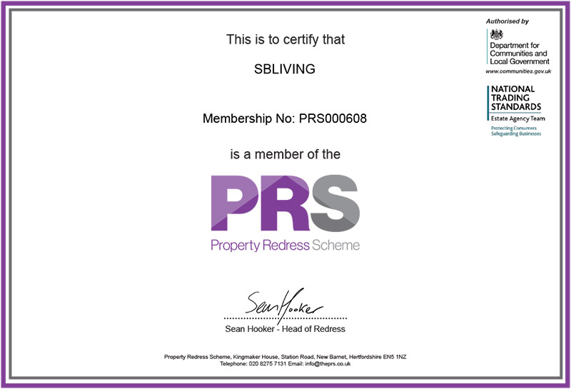 Property Redress Scheme member